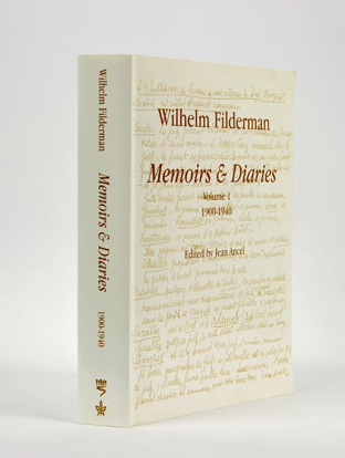 Picture of Wilhelm Filderman: Memoirs and Diaries, volume 1 – 1900-1940