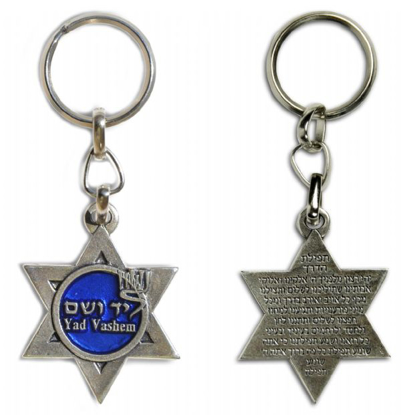Picture of Star of David keychain