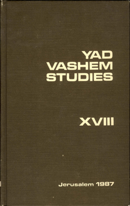 Picture of Yad Vashem Studies: Volume XVIII