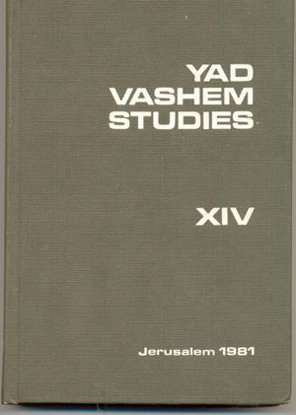 Picture of Yad Vashem Studies: Volume XIV