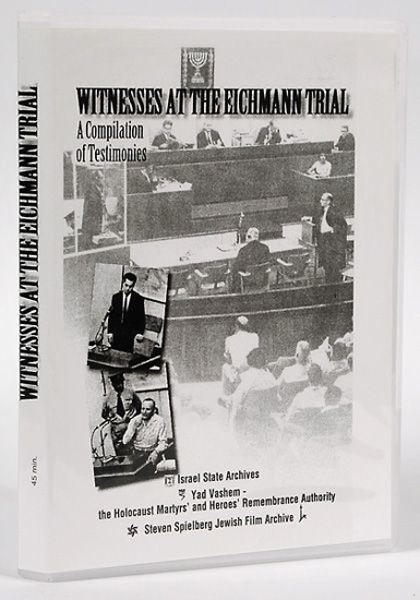 Picture of Witnesses at the Eichmann Trial