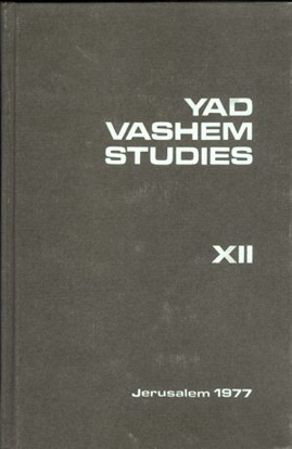 Picture of Yad Vashem Studies: Volume XII