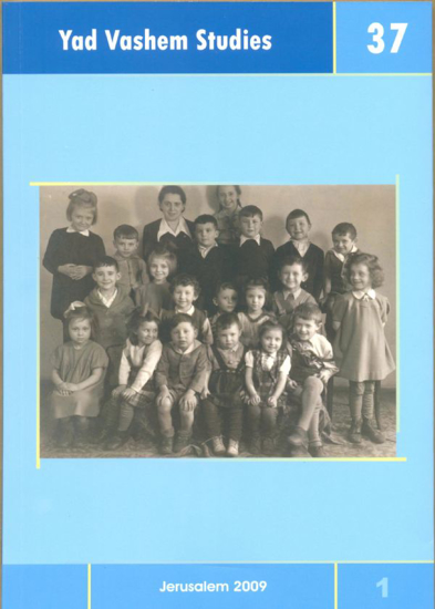 Picture of The Raw Memory of War in Yad Vashem Studies, Volume 37:1