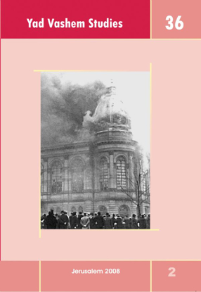 Picture of The Swedish Press and Kristallnacht in Yad Vashem Studies, Volume 36:2