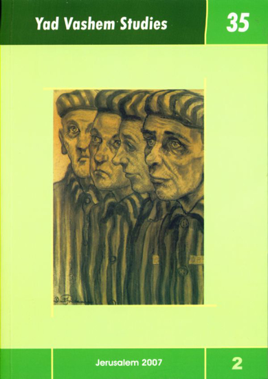 Picture of Soviet Reactions to the Eichmann Trial in Yad Vashem Studies, Volume 35:2